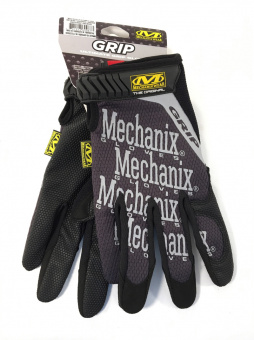Перчатки Mechanix Original GRIP-BLACK, размер M (США) Фото 4