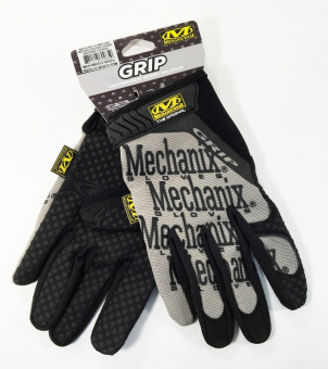 Перчатки Mechanix Original GRIP-BLACK, размер L (США)